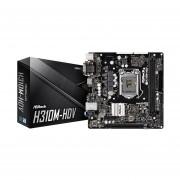 Tarjeta Madre ASRock H310M-HDV 2xDDR4 PCIE USB3 HDMI Socket 1151