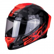 Scorpion Casco Moto Integrale Exo-R1 Air Ogi Black Red