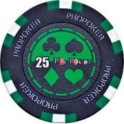 Kerámia póker zseton 25 pro-poker