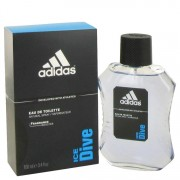 Adidas Ice Dive Eau De Toilette Spray By Adidas 3.4 oz Eau De Toilette Spray