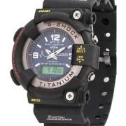 i DIVAS The Awesome MTG Analog-Digital Black Silicone Watch - Men