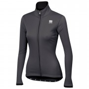 Sportful Women's Luna SoftShell Jacket - L - Anthracite/Black