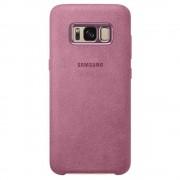 Husa Capac spate Alcantara Roz SAMSUNG Galaxy S8 SAMSUNG