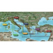 Garmin Adriatic Sea, North Coast Garmin VEU452S - BlueChart g2 Vision mSD/SD