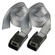 Set 2 ks upínací popruhy Master Lock 3110EURDAT - šedý - 250cm