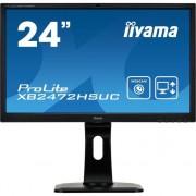 "Monitor Iiyama 24"", ProLite XB2472HSUC-B1, Camera incorporata, Microfon, Negru"