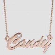 Herzschmuck Namenskette Candy Schrift