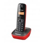 Bežični telefon Panasonic KX-TG1611FXR, crno-crveni