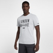 Tee-shirt de training Nike Dri-FIT (London) pour Homme - Blanc