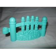 Fisher Price Little People Light Green Fence Piece Happy Sounds Home House Park Neighborhood Playground Preschool...
