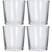 Merkloos 12x Drinkglazen/waterglazen 250 ml