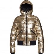 Goldbergh Women Jacket AURA gold metallic