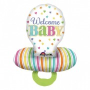 Balon folie suzeta WELCOME BABY