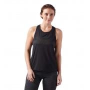 Camiseta De Tirantes Fitness Reebok Perforated Tank L Negro