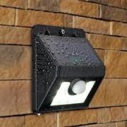 Set lampa LED cu incarcare solara si senzor de miscare