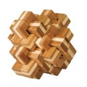 Fridolin Joc logic IQ din lemn bambus Ananas 3D