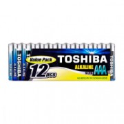 Baterii Toshiba Alkaline AAA LR03 1.5V 12 Baterii / Set