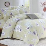 Lenjerie de pat Fashion CASA 100 bumbac satinat 2 persoane 4 piese