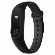 """version global xiaomi mi banda 2 brazalete reloj pulsera inteligente w / 0.42"""" pantalla tactil OLED - negro"""