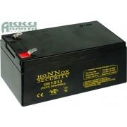 HONNOR 12V 3,3Ah akkumulátor