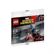 Lego 30447 Captain America Sidecar Motorcycle [Parallel import goods]