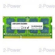 2-Power 2GB DDR3 MultiSpeed 1066/1333/1600 MHz SO-DIMM