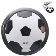 Generic Air Power Soccer Disc And Gliding Toy - Black + White