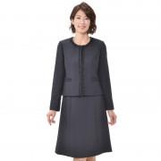 東京ソワール ツイードジャケット付きアンサンブル【QVC】40代・50代レディースファッション