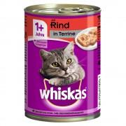Whiskas -5% Rabat dla nowych klientówWhiskas Adult, puszki, 12 x 400 g - Drób w galarecie Darmowa Dostawa od 99 zł