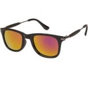 Arzonai Stone Boss Wayfarer Black-Orange UV Protection Sunglasses For Men & Women |MA-038-S15|