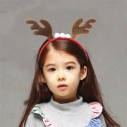 Christmas Headband Reindeer Antlers Ear Hair Hoop Christmas Party Hair Accessories Deer Hair Buckle Decoration