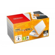 Nintendo New 2DS XL Weiß + Orange