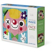 Crocodile Creek Make-A-Face Blocks Funny Face People Mix & Match Block Stacking Set 2.5