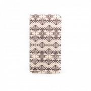 Husa Flip Cover Tellur Folio Negru / Alb pentru Huawei P8 Lite