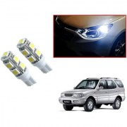 Auto Addict Car T10 9 SMD Headlight LED Bulb for Headlights Parking Light Number Plate Light Indicator Light For Tata Safari Dicor