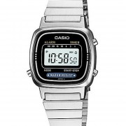 Reloj Casio LA-670WA 1D - Plateado Y Negro