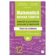 Matematica cls 12 M1 Breviar teoretic ed.2016 - Valentin Nicula Petre Simion