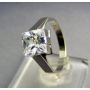 Dámsky prsteň biele zlato zirkón VP54309B