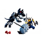 LEGO Stories & Action Vikings: Viking Warrior Challenges the Fenris Wolfe (7015)