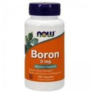 Борон - Boron 3 мг. - 100 капсули - NOW FOODS, NF1410