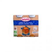 Babybio Jó éjszakát! - Bio vegyes zöldséges-gabonás finomság 2 x 200 g