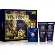 Versace Dylan Blue Pour Homme coffret IV. Eau de Toilette 50 ml + gel de duche 50 ml + bálsamo after shave 50 ml