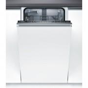 Masina de spalat vase Bosch Serie 2 SPV25CX00E Silence Plus, Total incorporabila, 45 cm, 9 seturi, 5 programe, A+, Infolight, Panel comanda inox/negru