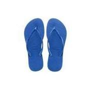 Sandália Havaianas Slim Azul Estrela 37/38 - 37/38