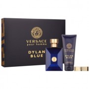 Versace Dylan Blue coffret III. Eau de Toilette 100 ml + gel de duche 100 ml + clips para notas