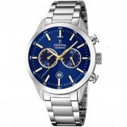 Reloj F16826/E Plateado Festina Hombre Timeless Chronograph Festina