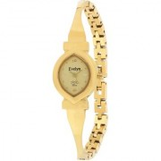Evelyn Stainless Steel Gold Plated Wrist Watch for Women-EVE-535