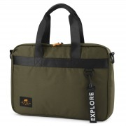 Lazy Bear Lancy Grüne Laptoptasche