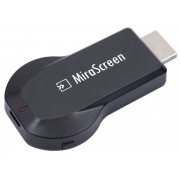HDMI Streaming player MiraScreen Plus, Wireless Display Dongle, AirPlay, Miracast (Negru)