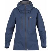 FjallRaven Bergtagen Eco-Shell Jacket W - Mountain Blue - Vestes de Pluie XXS